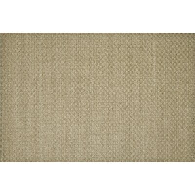 Hadley Dune Brown/Tan Solid Area Rug Rug Size: 36 x 56