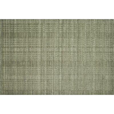 Greenfest Stone Grey Solid Area Rug Rug Size: Rectangle 36 x 56