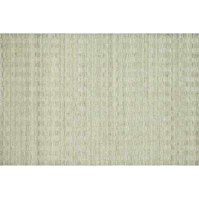 Nordgran Oatmeal White Solid Area Rug Rug Size: Rectangle 36 x 56