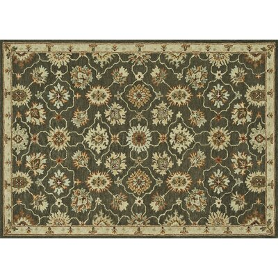 Fairfield Hand-Tufted Charcoal Area Rug Rug Size: 76 x 96