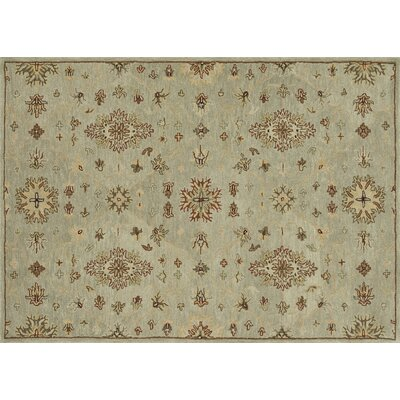 Fairfield Hand-Tufted Beige/Brown Area Rug Rug Size: 76 x 96