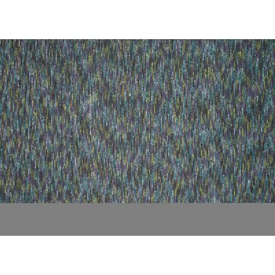 Lessy Hand-Hooked Graphite Area Rug Rug Size: Rectangle 5 x 76
