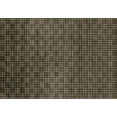 Floyd Hand Knotted Wool Brown/Tan Area Rug Rug Size: 56 x 86