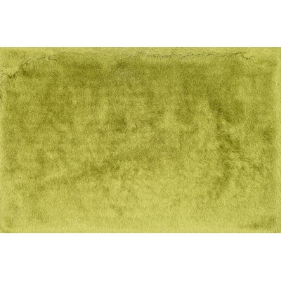 Hersi Hand-Tufted Citron Area Rug Rug Size: Rectangle 5 x 76