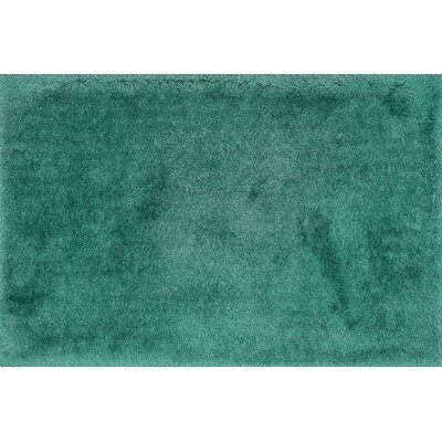 Allure Shag Hand-Tufted Emerald Area Rug Rug Size: 93 x 13