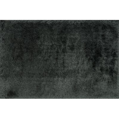 Hersi Hand-Tufted Graphite Black/Gray Area Rug Rug Size: Rectangle 5 x 76