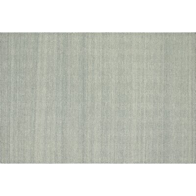 Quays Handmade Light Blue Area Rug Rug Size: Rectangle 5 x 76