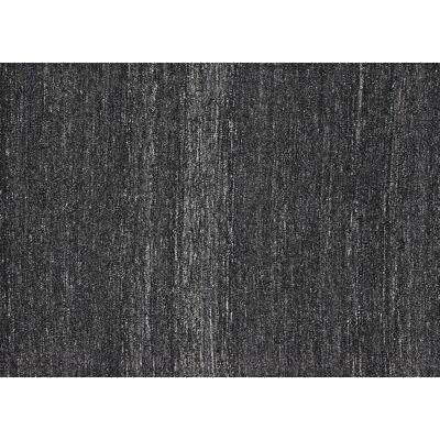 Paxton Hand-Woven Black/Gray Area Rug Rug Size: Rectangle 9'3