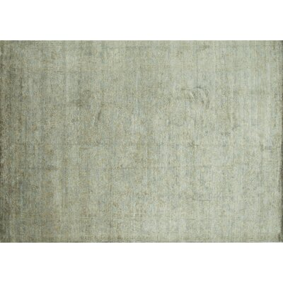 Leffel Hand-Knotted Limestone Area Rug Rug Size: Rectangle 79 x 99