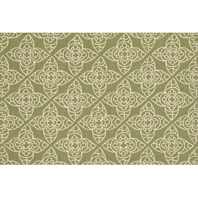 Summerton Hand-Hooked Green/Ivory Area Rug Rug Size: 5 x 76