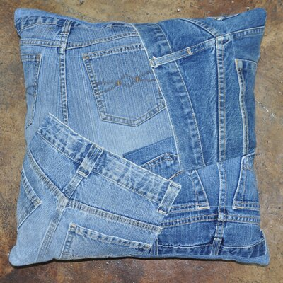 Runway Pillow Size: 16 H x 16 W
