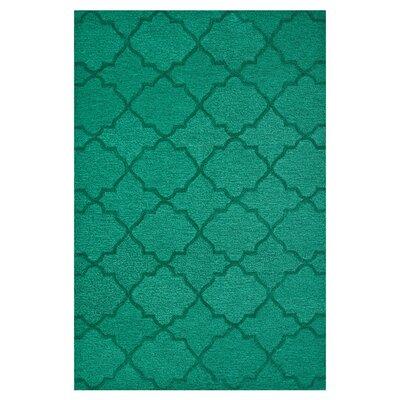 Circa Emerald Area Rug Rug Size: 5 x 76