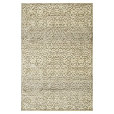 Nyla Beige Area Rug Rug Size: Rectangle 7'6