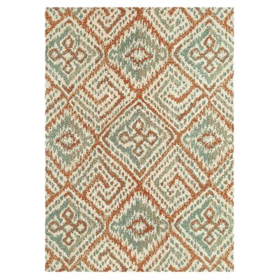 Avanti Spice/Mist Area Rug Rug Size: Rectangle 36 x 56