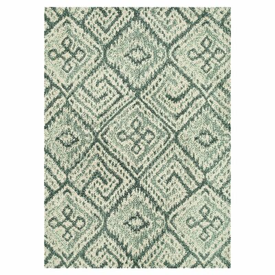 Keiper Teal Area Rug Rug Size: Rectangle 36 x 56