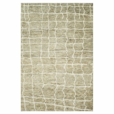 Palumbo Hand-Knotted Birch Area Rug Rug Size: Rectangle 56 x 86