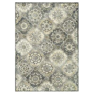 Keiper Gray/Sage Area Rug Rug Size: Rectangle 76 x 96