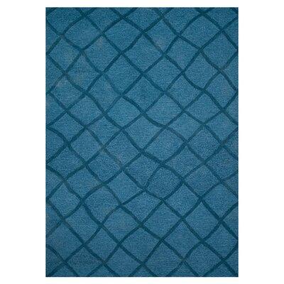 Circa Blue Rug Rug Size: 5' x 7'6