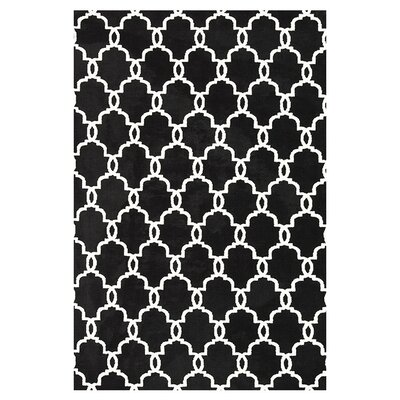 Dane Onyx Area Rug Rug Size: Rectangle 36 x 56