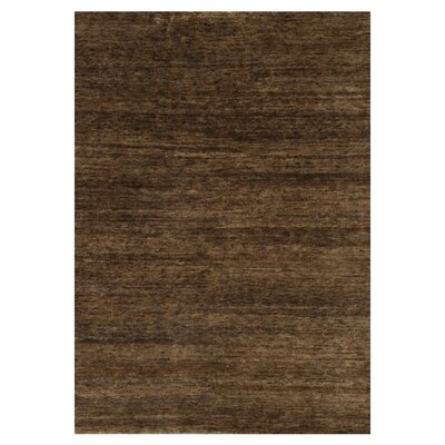 Intrigue Hand-Knotted Toffee Area Rug Rug Size: 56 x 86