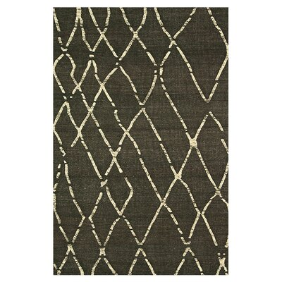 Mazur Hand-Woven Coffee Area Rug Rug Size: Rectangle 79 x 99