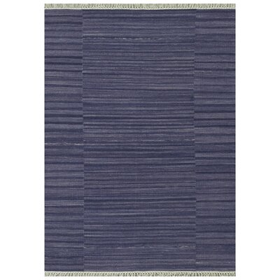 Barret Hand-Woven Purple Area Rug Rug Size: Rectangle 5 x 76