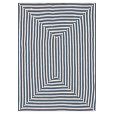 In/Out Handmade Gray Indoor/Outdoor Area Rug Rug Size: 36 x 56