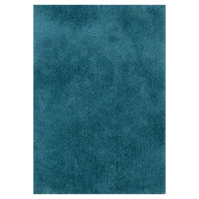 Fresco Hand-Tufted Blue Area Rug Rug Size: 36 x 56