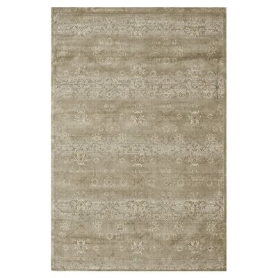 Keever Taupe Area Rug Rug Size: Rectangle 76 x 105