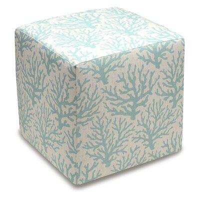 Cube Ottoman Color: Aqua