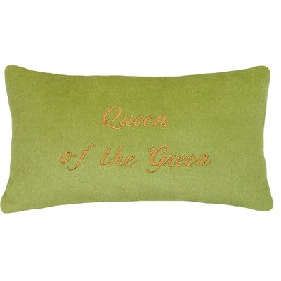 Queen of the Wool Lumbar Pillow