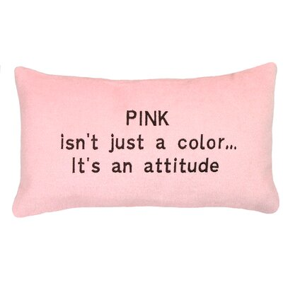 Attitude�Wool Lumbar Pillow