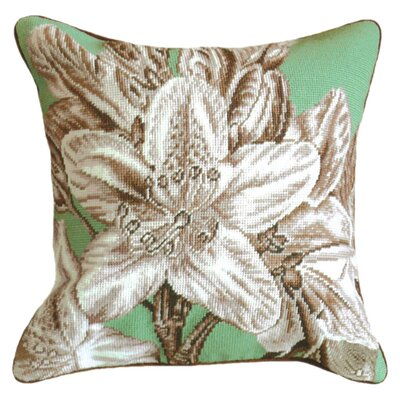 Lily Wool Throw Pillow