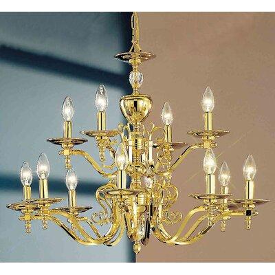 Ridgewood 12-Light Candle-Style Chandelier