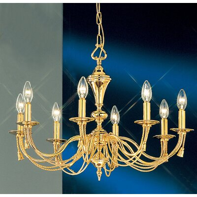 Petit Paris 8-Light Candle-Style Chandelier
