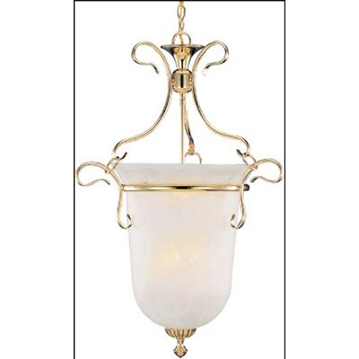 Bellwether 6-Light Bell Lantern Pendant Finish: Gold Plate