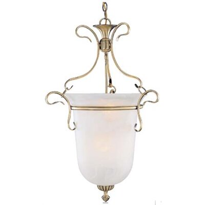 Bellwether 6-Light Bell Lantern Pendant Finish: White Wash