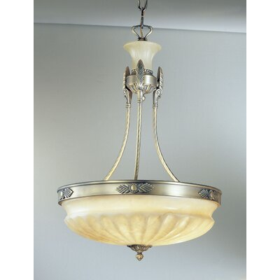 Marie Antoiniette 3-Light Bowl Pendant