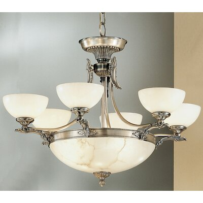 Lauren 9-Light Shaded Chandelier