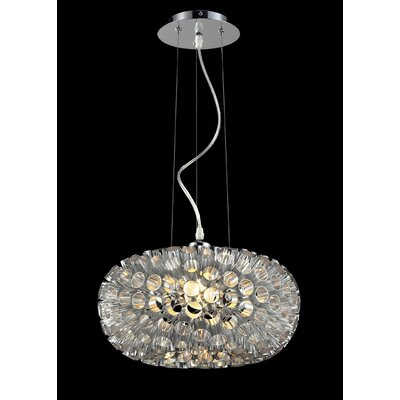 Laguna 1-Light Mini pendant Shade Color: No Shade