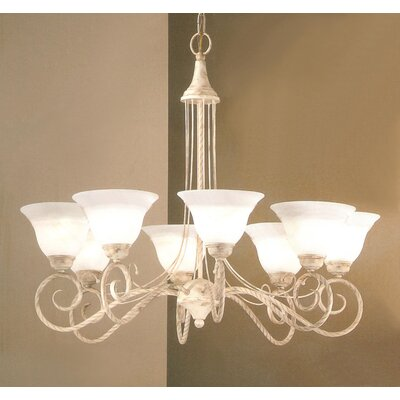 Torino 8-Light Shaded Chandelier