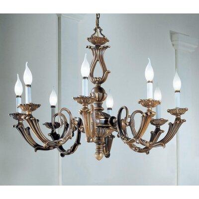 Alexandria III 8-Light Candle-Style Chandelier