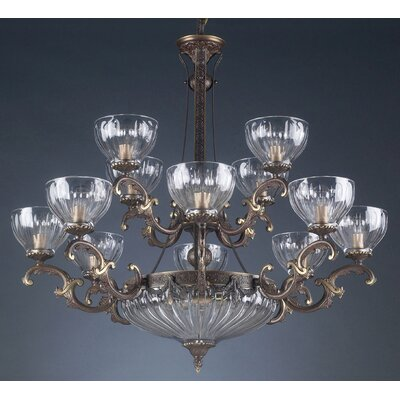 Warsaw 14-Light Candle-Style Chandelier