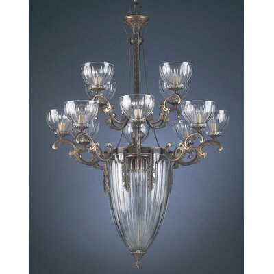 Warsaw 16-Light Candle-Style Chandelier