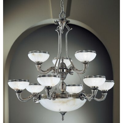Chelsea 10-Light Shaded Chandelier