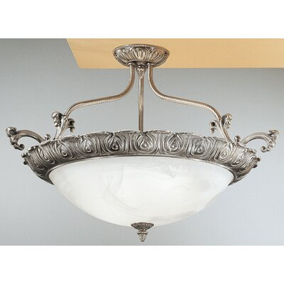 Montego Bay 4-Light Semi Flush Mount
