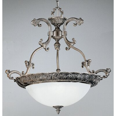 Montego Bay 3-Light Bowl Pendant Finish: Millennium Silver