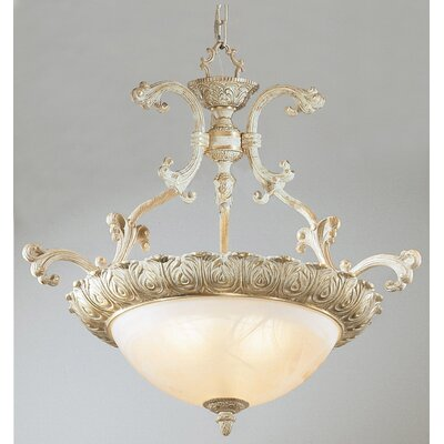 Montego Bay 3-Light Bowl Pendant Finish: Sorrento Gold