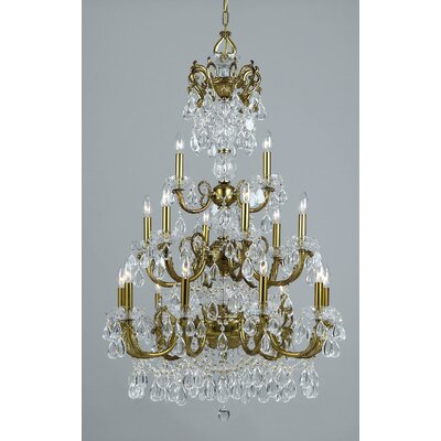 Vienna Palace 18-Light Crystal Chandelier