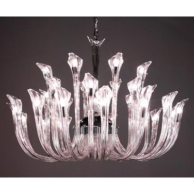 Inspiration 32-Light Crystal Chandelier Crystal: No Crystal